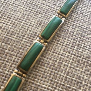 Native American bracelet with turquoise by Sanel
